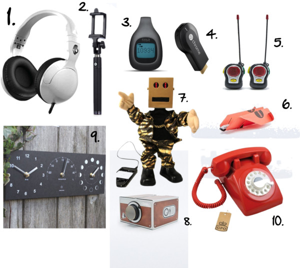 Holiday Gift Guide - Technology and Gadgets
